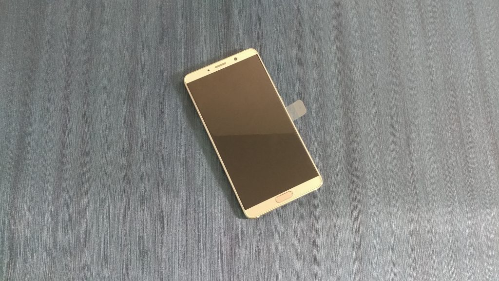 Huawei Mate 10 up front