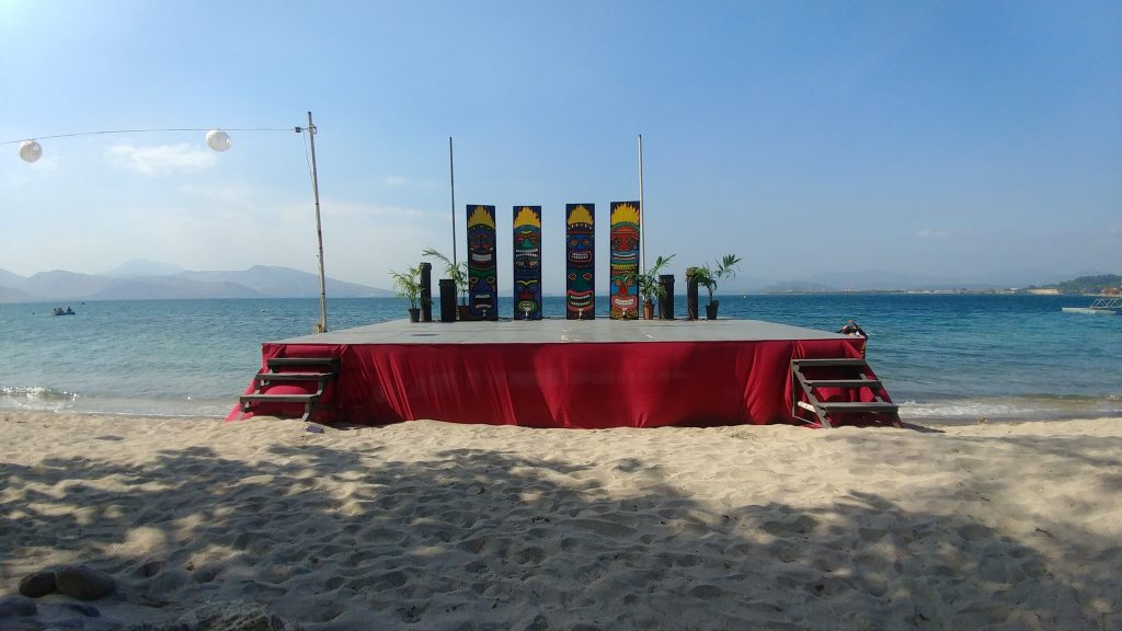 Stage Camayan Beach Resort
