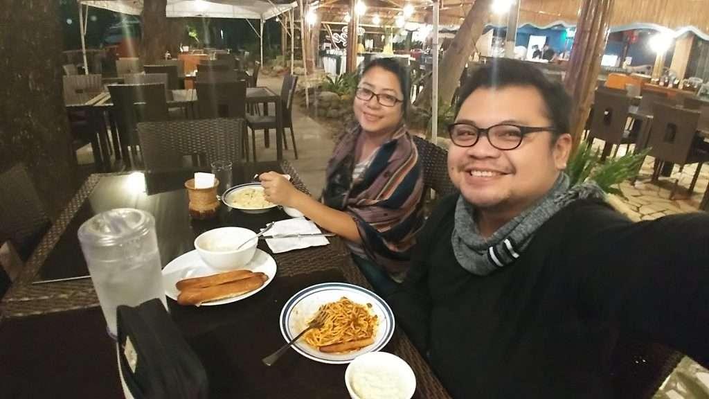 Dinner at the Camayan