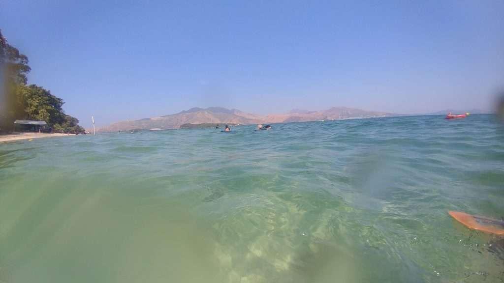 Beach water Camayan