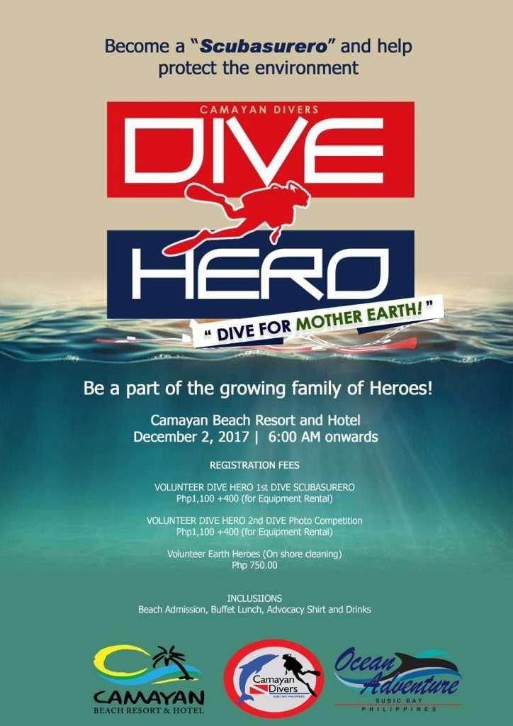 Dive Hero Festival - Scubasurero in Subic Bay!