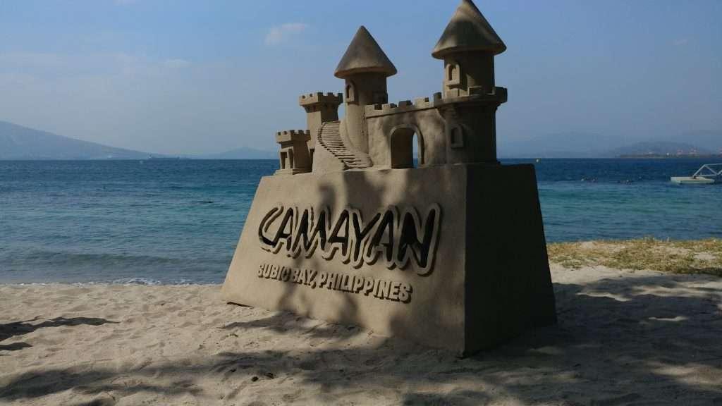 Sand Castle at Camayan