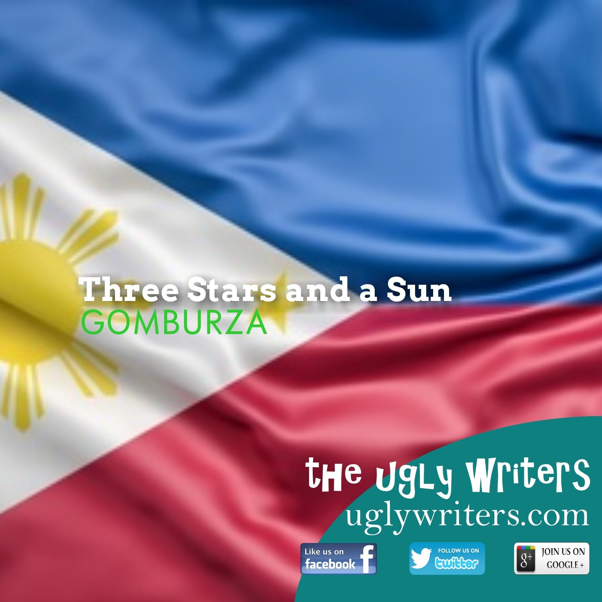 Three Stars and a Sun flag theuglywriters