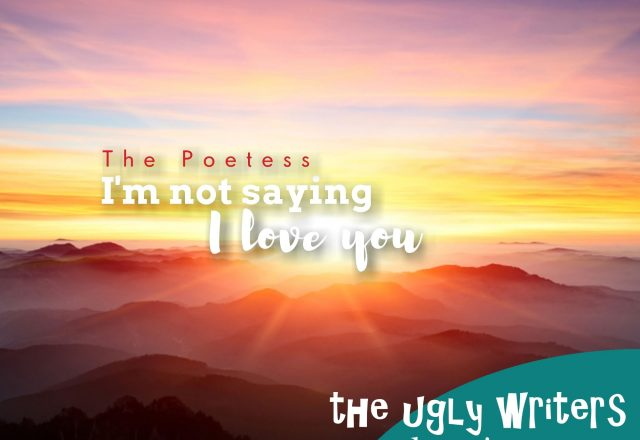 the poetess the ugly writers i love you