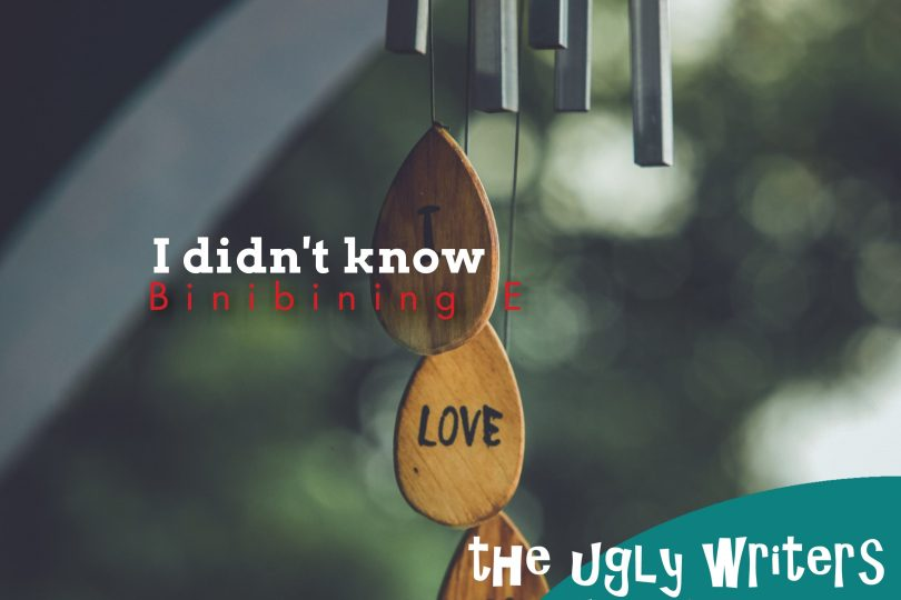 i didn't know the ugly writers binibining e